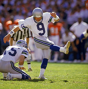 Norm Johnson<br />Kicker (82-90)