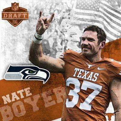 Nate Boyer<br />Seattle Seahawks